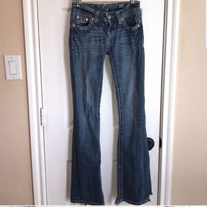 Size 24 Bootcut Miss Me jeans